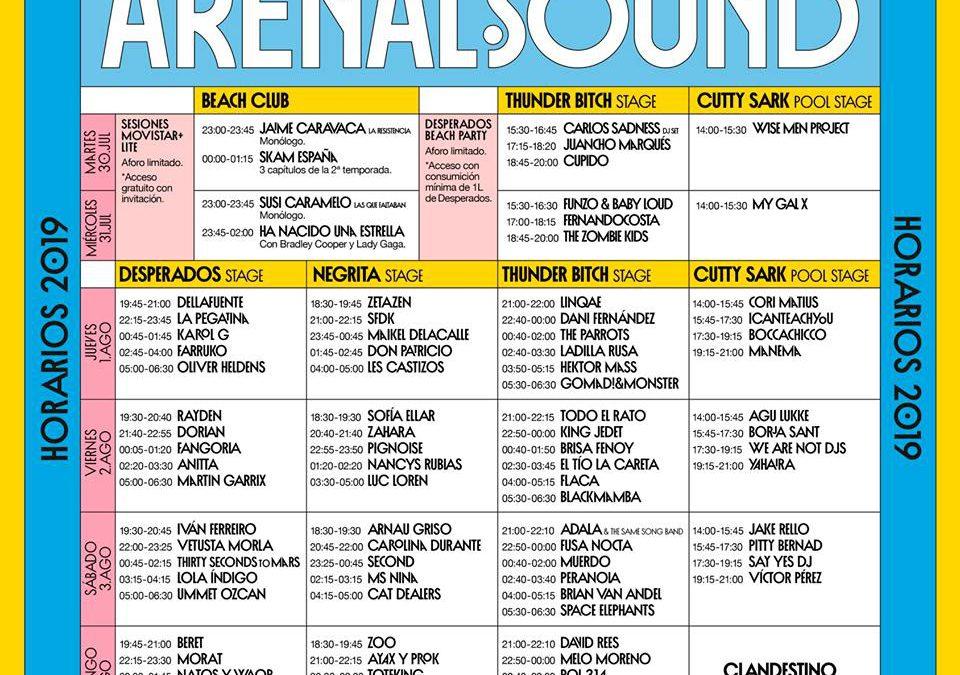 Arenal Sound 2019 comienza con grandes expectativas